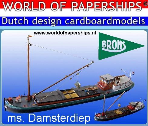 ms.Damsterdiep bouwplaat